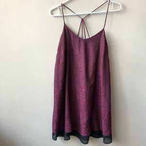 Topshop Size 6 Tank Slip Dress